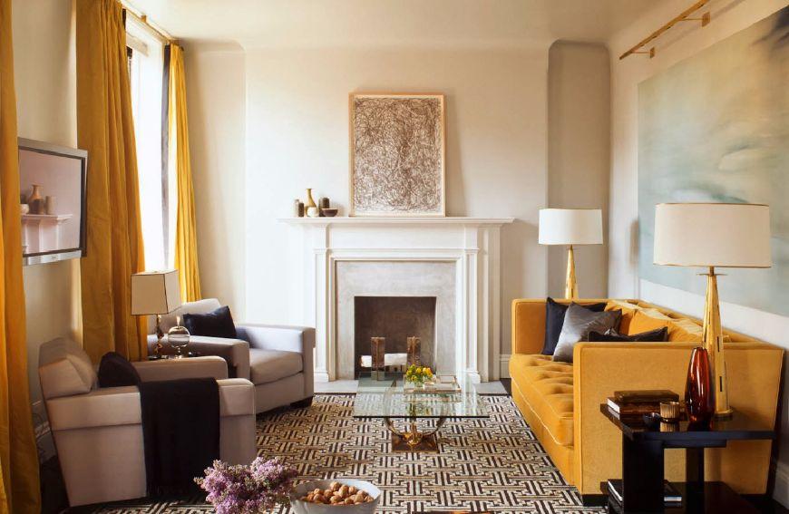 astonishing living room end table | 7 Astonishing Living Room Ideas By Steven Gambrel | Coffee ...