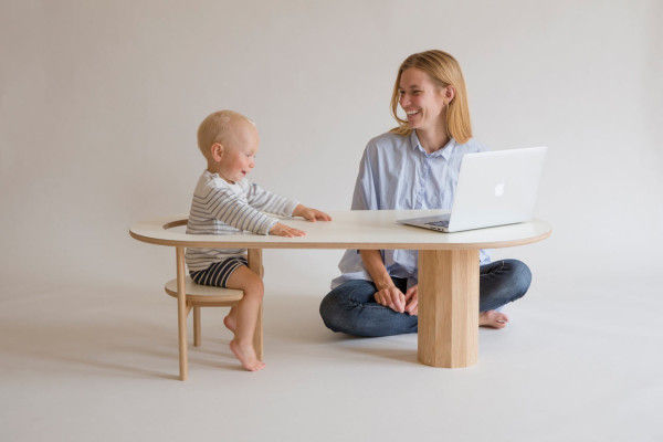 The Perfect Coffee Table To Keep Your Baby Safe