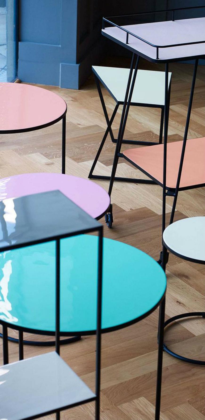 Modern design: nesting side tables for your living room ...