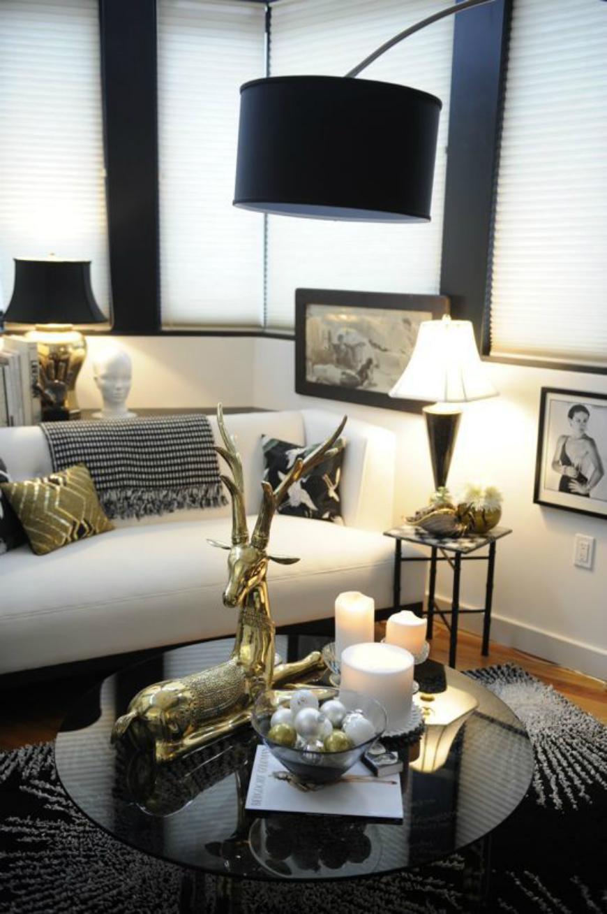 Black and White Living Room Ideas  15 Black and White Living Room Ideas Using the Best Coffee Table Designs 862ac9f0428e9482d977e64d56551c40