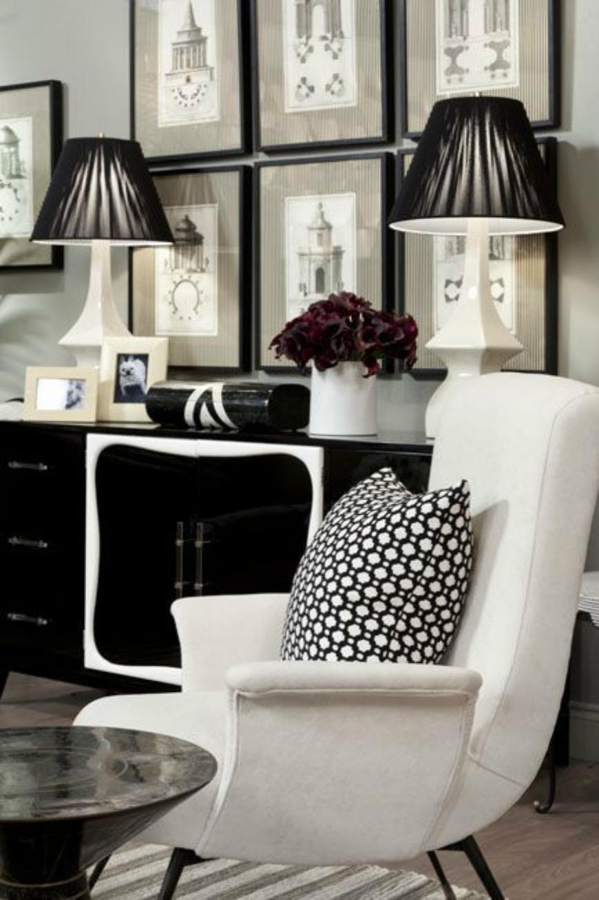 Black and White Living Room Ideas  15 Black and White Living Room Ideas Using the Best Coffee Table Designs 92ba646d3ea4f6ada90293b089584cf5