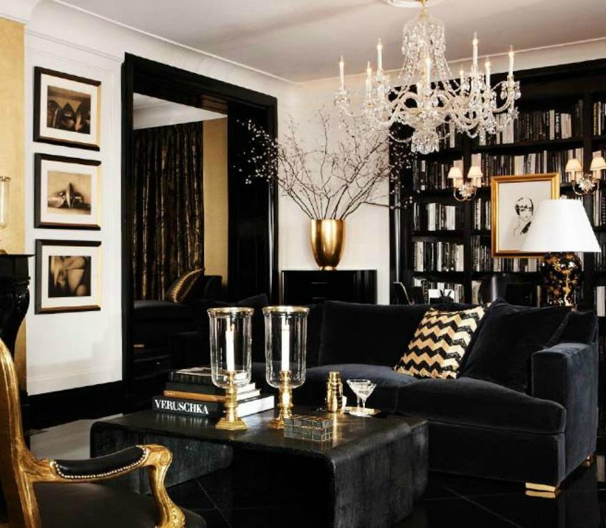 Black and White Living Room Ideas  15 Black and White Living Room Ideas Using the Best Coffee Table Designs f464d72f429b94a2716bb1ededd9865a