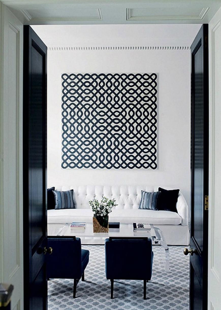Black and White Living Room Ideas  15 Black and White Living Room Ideas Using the Best Coffee Table Designs svartvitt6 a
