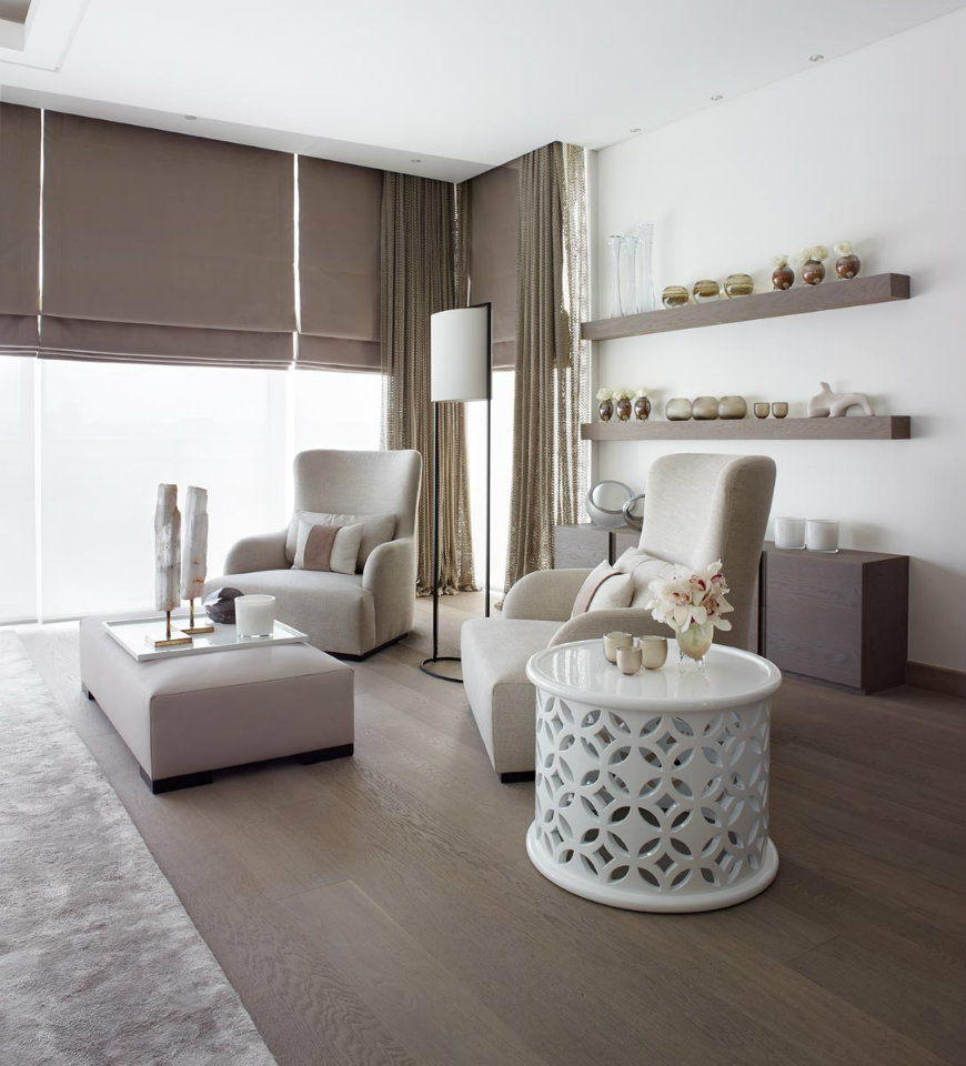 1-3 Living Room Living Room Design Ideas in Brown and Beige 1 3 1
