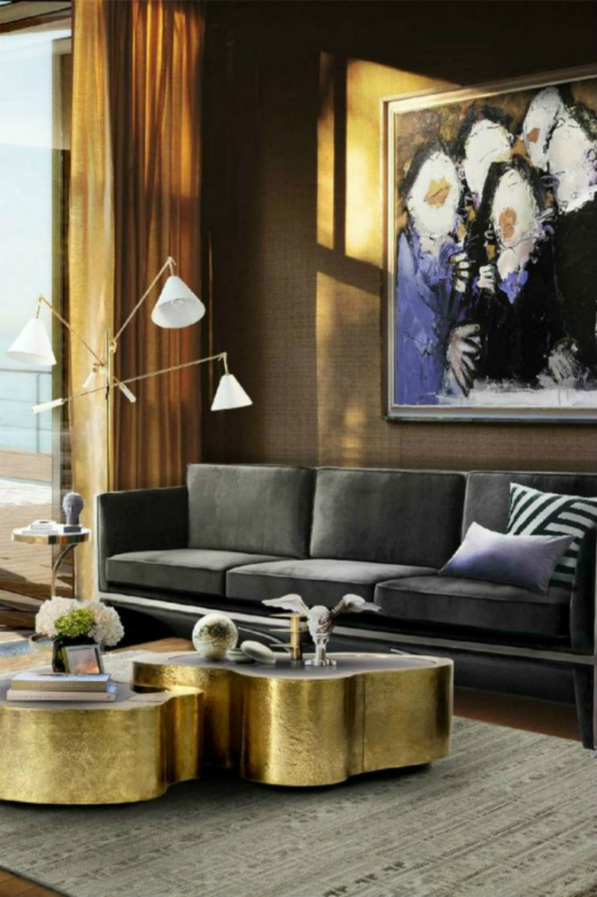 Décor Tricks with American Influence Living Room Ideas 2016 Decorating With Copper Best Projects
