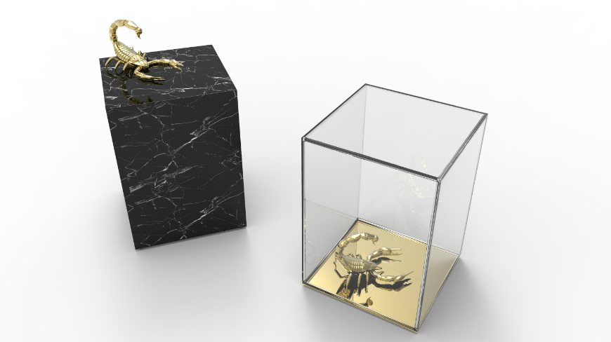 Marble Coffee and Side Table Designs On Home Interiors Metamorphosis Side Table 2