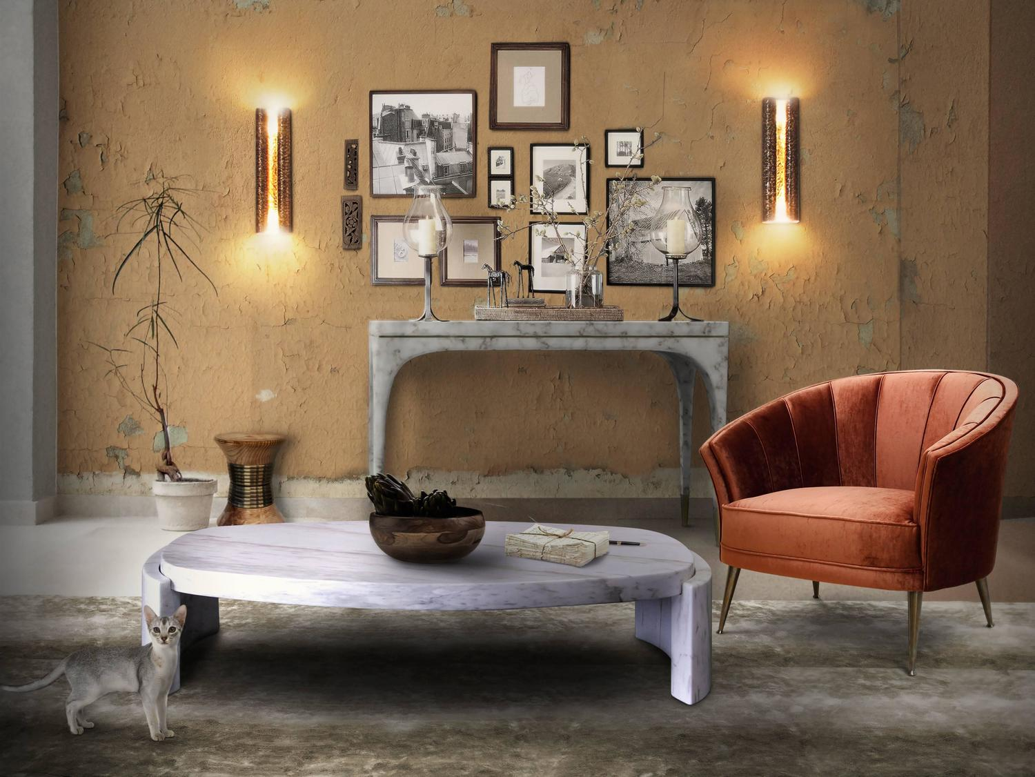 Marble Coffee and Side Table Designs On Home Interiors brabbu ambience press 21 HR z