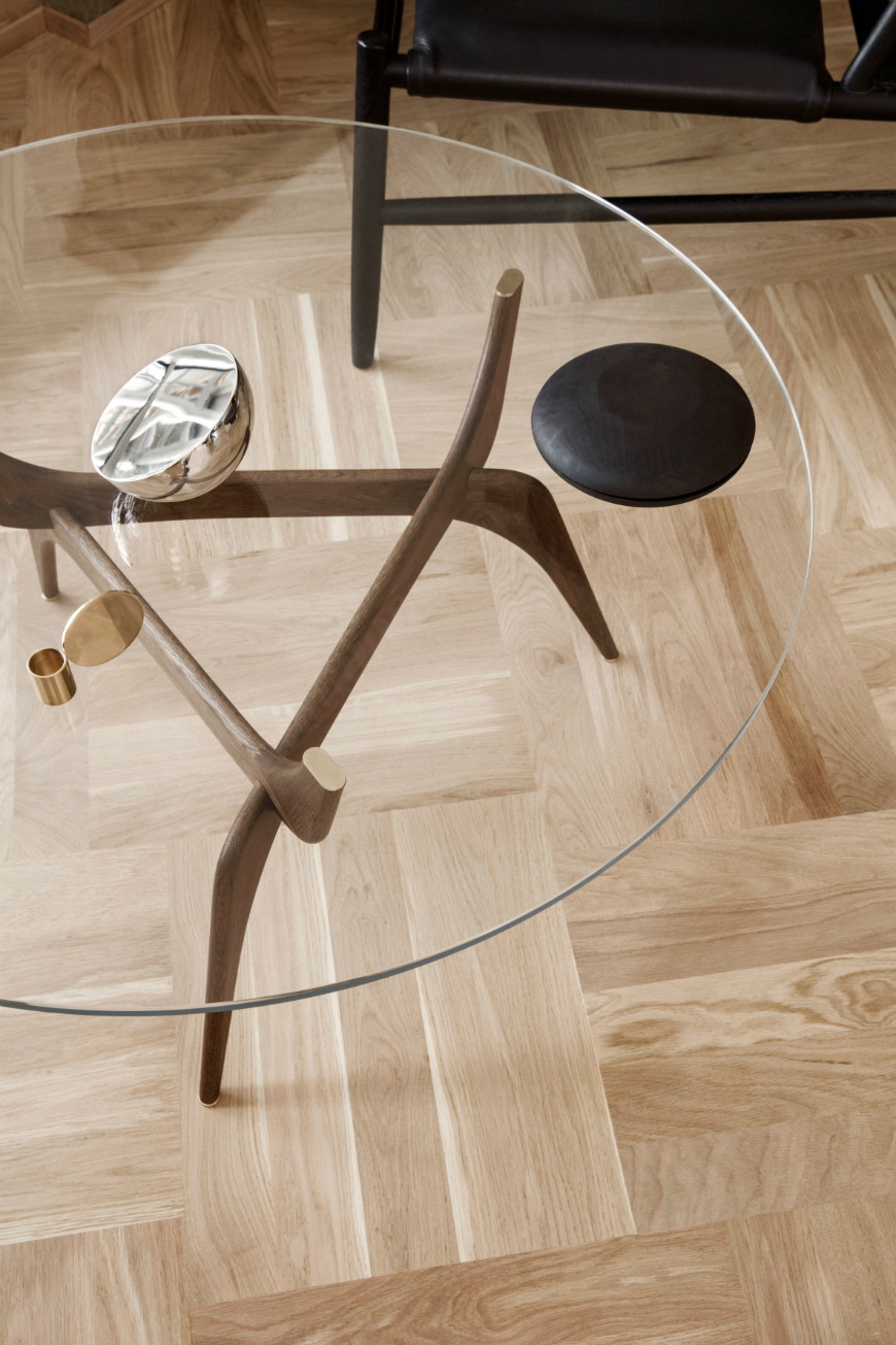 Mid-century tables by Hans Bølling has launched at IMM Cologne 2017 triiio tables hans bolling brdr kruger design furniture dezeen 2364 col 0