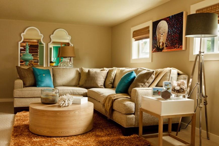 15 Splendid Examples of Circular Ottoman Coffee Tables 20 Seahound Ranch