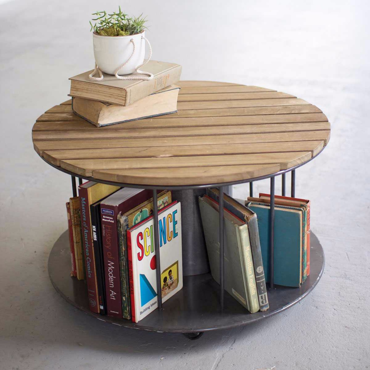 10 Inspiring Minimalist Tables Coffee Tables 10 Inspiring Minimalist Coffee Tables storage space for books 9 1500