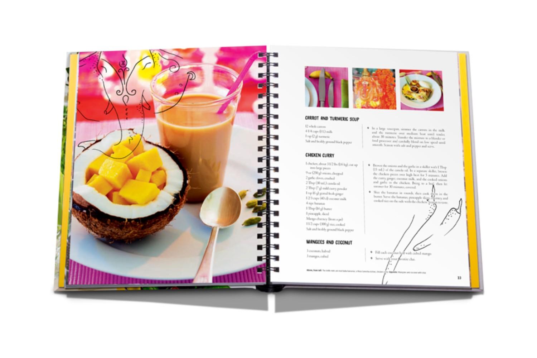 Food Coffee Table Book Santaconapp