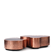 luxury home 40 Stupendous Copper Coffee and Side Tables for Luxury Homes wave boca do lobo thumbnail