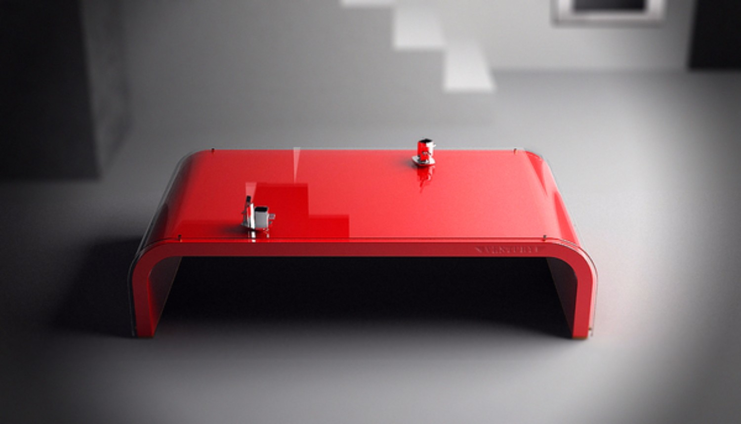 Discover the Meaning of your Coffee Table Color red coffee table