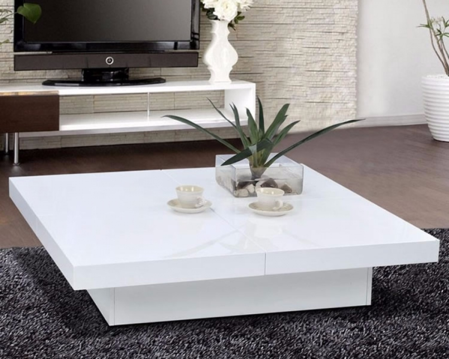 Discover the Meaning of your Coffee Table Color white coffee table