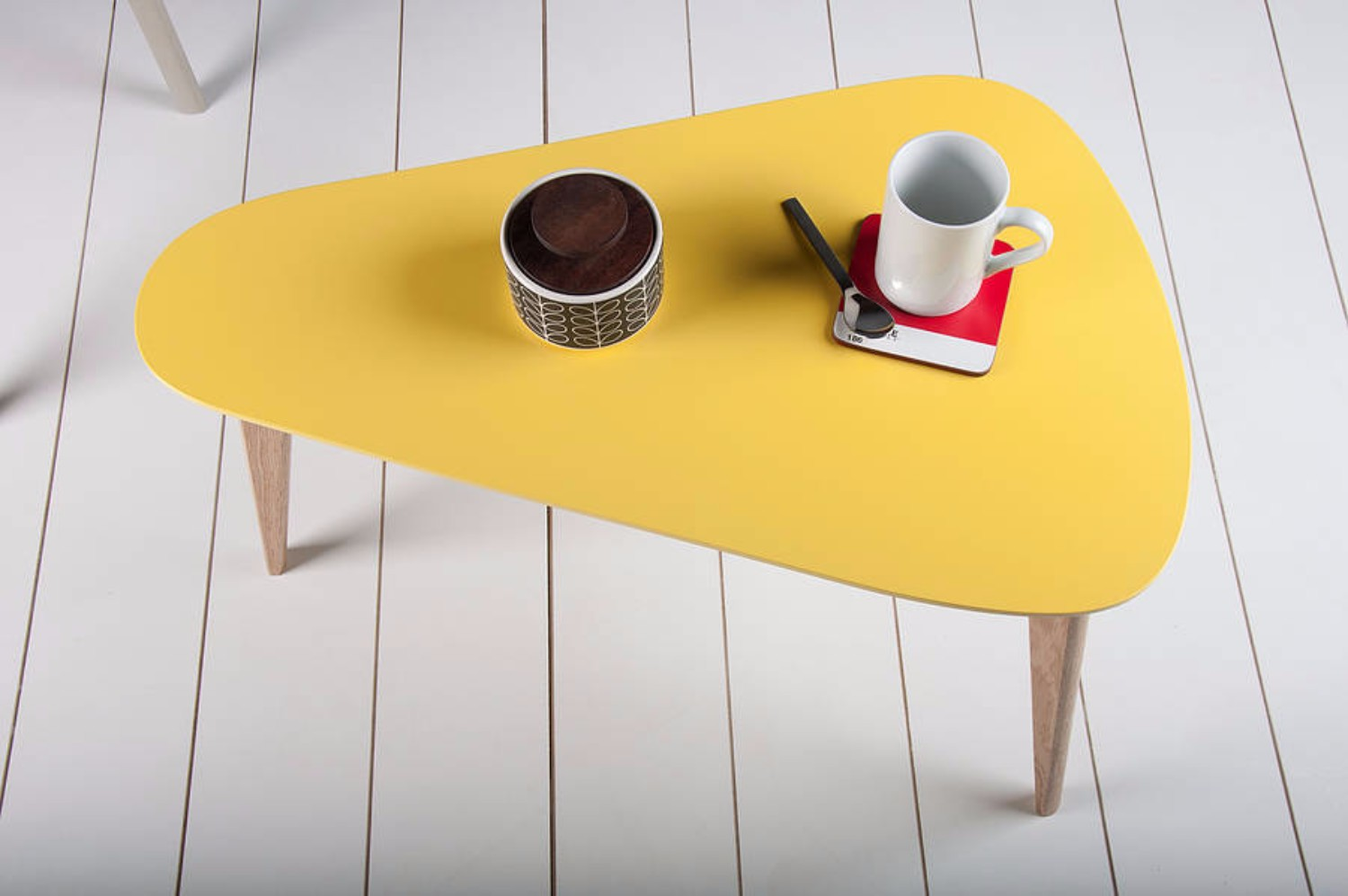 Discover the Meaning of your Coffee Table Color yellow coffee table