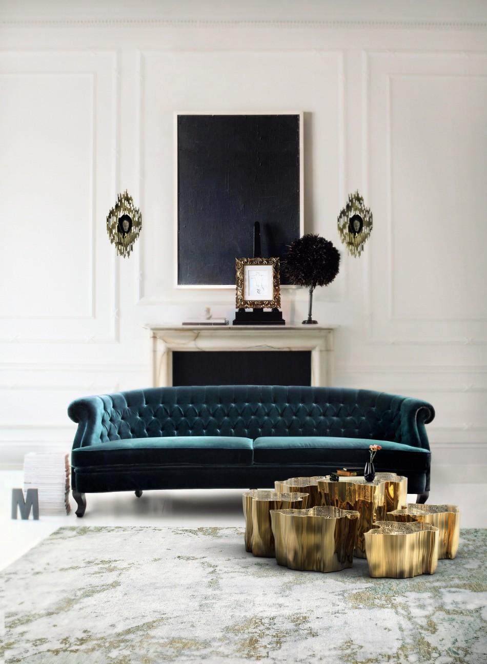10 Luxury Sofas That Will Shine Next To Your Coffee Table | www.bocadolobo.com #luxurysofa #livingroom #coffeeandsidetables #luxurybrands #luxuryfurniture #famousbrands