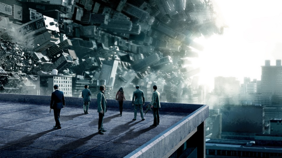 A Coffee Table Inspired In A Scene From The Movie Inception inception explained
