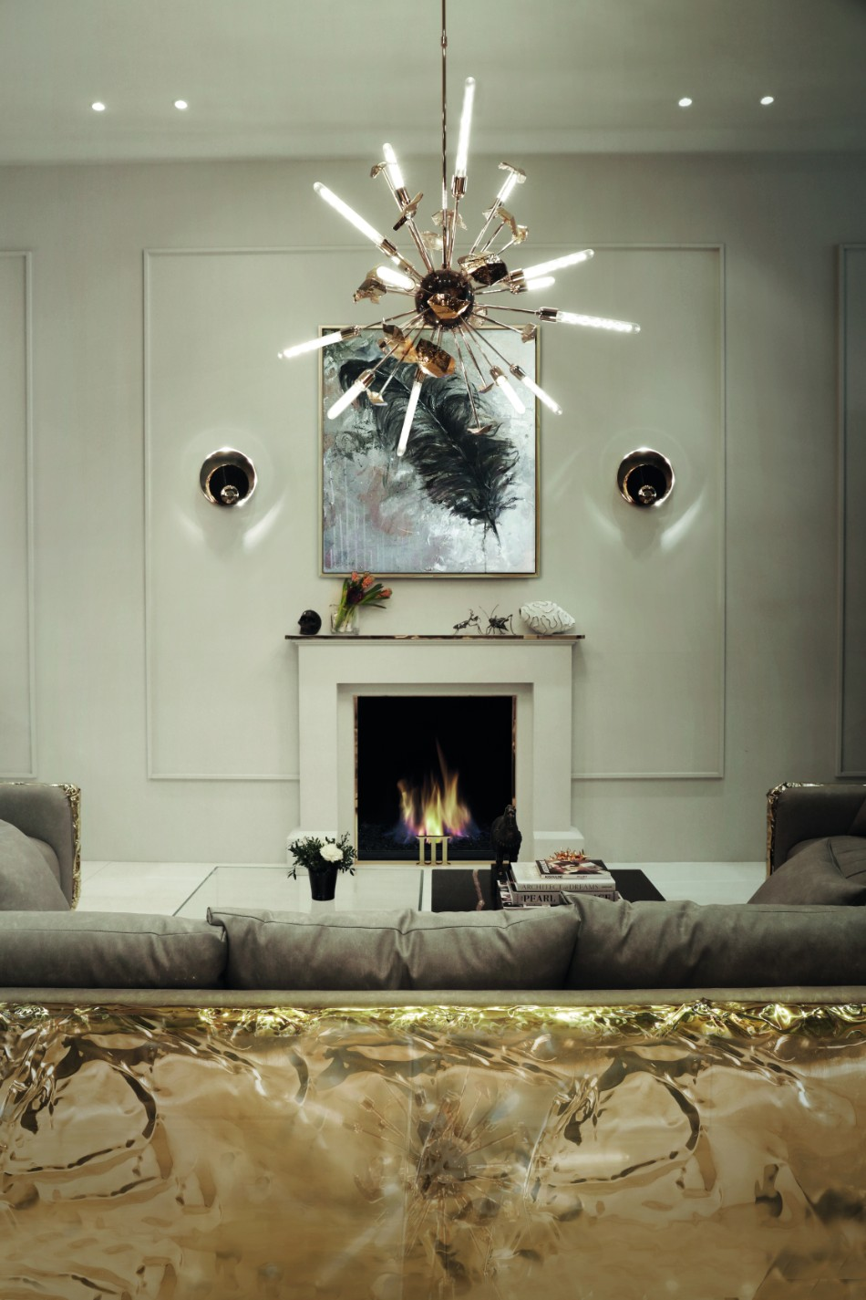 living room 10 Wall Lamps Ideas For Your Living Room metamorphosis sconces ambience 03