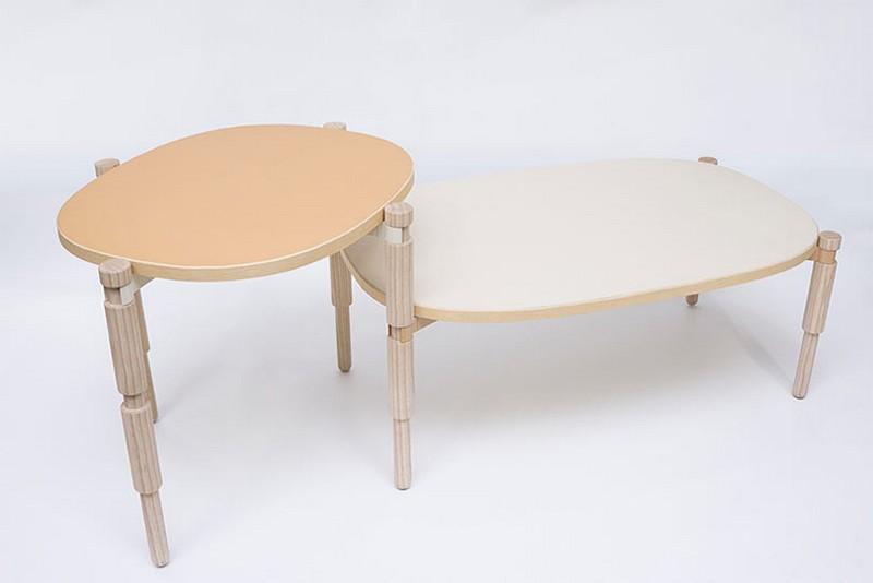 coffee table coffee table Discover Amazing Coffee Table Inspired By Lego Leg O tables Kunikazu Hamanishi 1