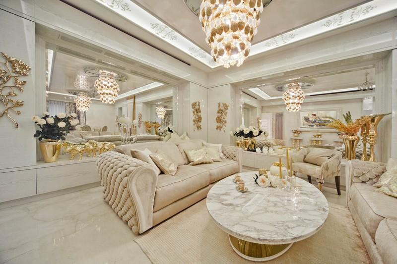 белые журнальные столики Роскошные белые журнальные столики Top 8 Luxurious White Coffee Tables9