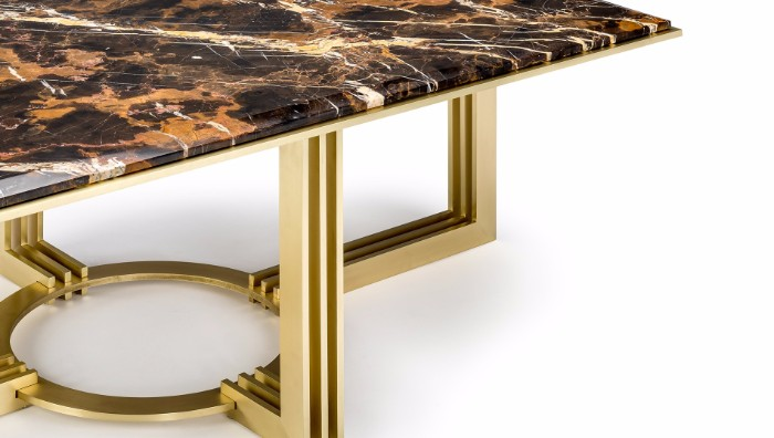 outdoor coffee table Outdoor Coffee Tables That Will Make You Stay Outside LUXDECO ORION COFFEE TABLE Detail