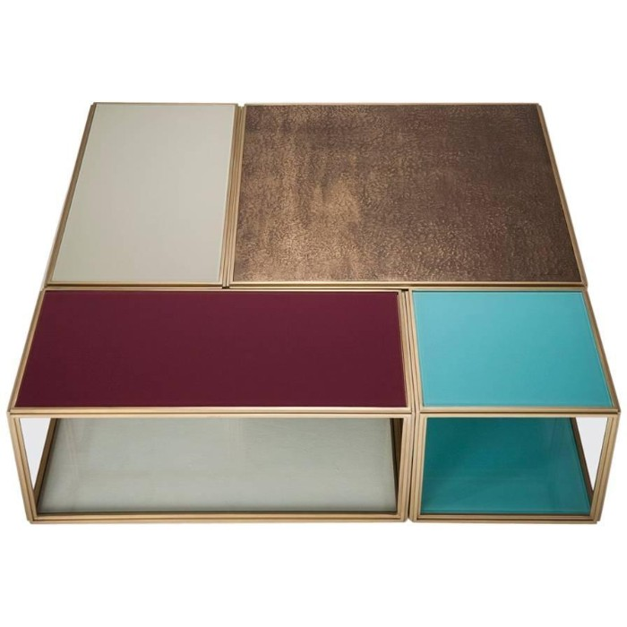 outdoor coffee table Outdoor Coffee Tables That Will Make You Stay Outside Modular Mondrian