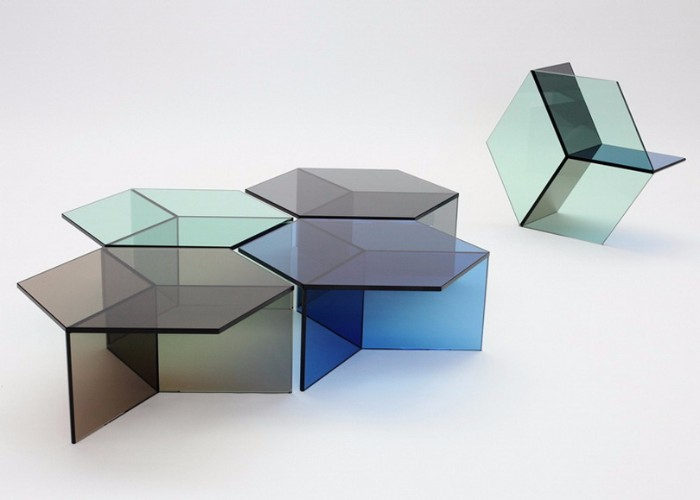 glass coffee table The Stuning Glass Coffee Tables by Sebastian Scherer isom3