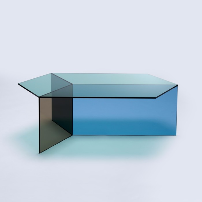glass coffee table The Stuning Glass Coffee Tables by Sebastian Scherer isom7