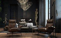 living room design Improve Your Living Room Design With Dark Tone Furniture Sophisticated Paris Apartment by Irina Dzhemesyuk Vitaly Yurov 08 240x150