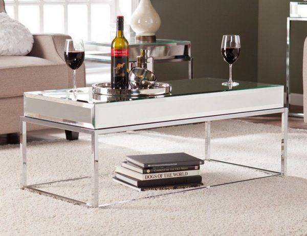 mirrored coffee tables Mirrored Coffee Tables to Upgrade Your Living Space Mirrored Coffee Tables to Upgrade Your Living Space11 600x460