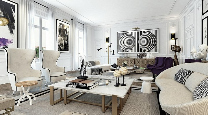 monochromatic colors Most Stylish Living Spaces with Monochromatic Colors Most Stylish Living Spaces with Monochromatic Colors13