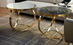 metal coffee and side tables 10 Daring Decorations with Metal Coffee Tables img4 240x150