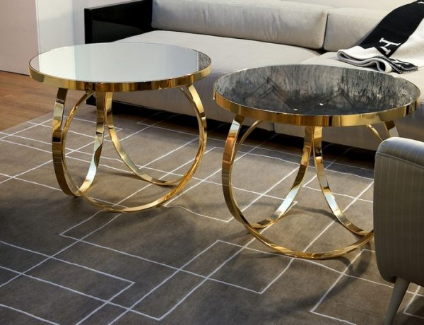 metal coffee and side tables 10 Daring Decorations with Metal Coffee Tables img4 600x460