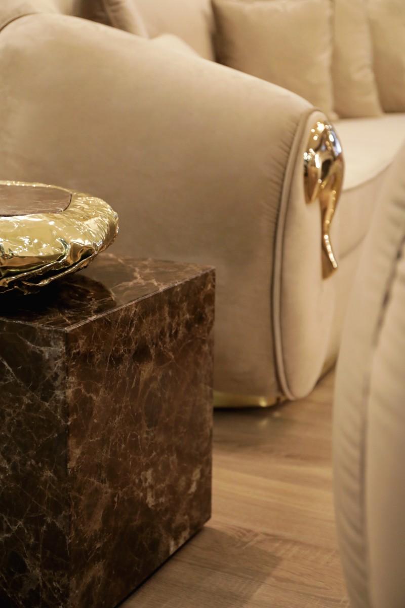 gold side tables Gold Side tables 7 Luxury Gold Side Tables stonehenge s