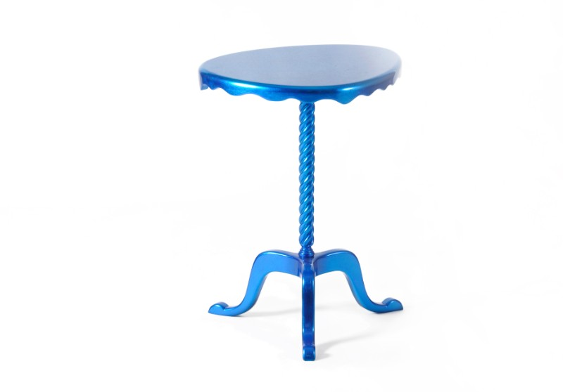 side table The Most Colorful Side Table Designs ottoman 04