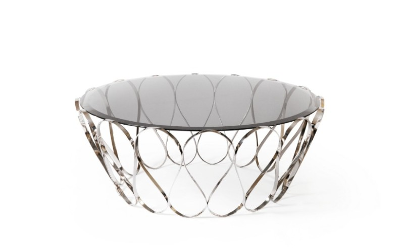luxury living room Glass Coffee and Side Tables For Your Luxury Living Room aquaris cst
