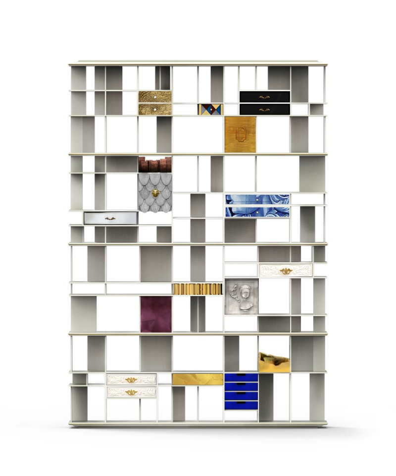 living room 5 Living Room Accessories that Will Improve Your Space coleccionista custom bookcase shelf 01