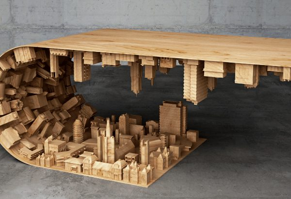 coffee table Wave City Coffee Table By Stelios Mousarris feature 8 600x410