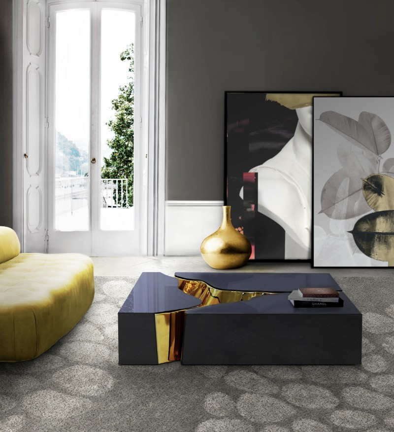 coffee tables Most Wanted Luxurious Fragmented Coffee Tables Lapiaz Black by Boca do Lobo
