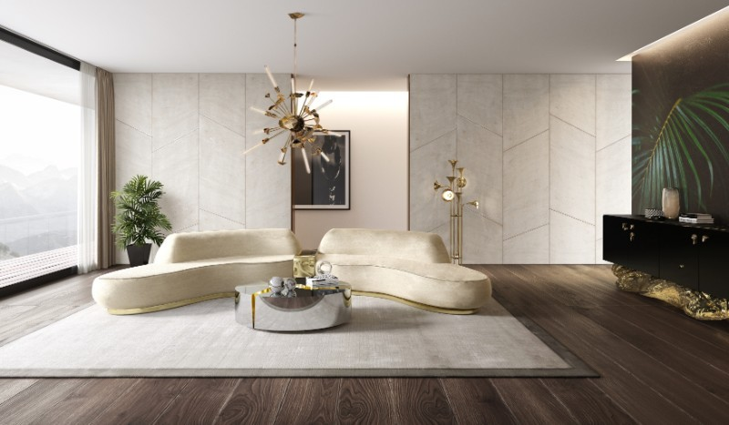 coffee tables Most Wanted Luxurious Fragmented Coffee Tables Lapiaz Oval by Boca do Lobo