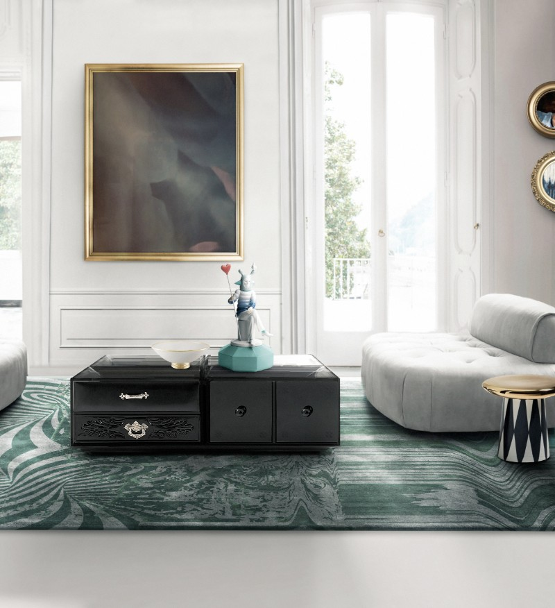 black coffee tables Black Coffee Tables For Your Contemporary Living Room soho coffee black