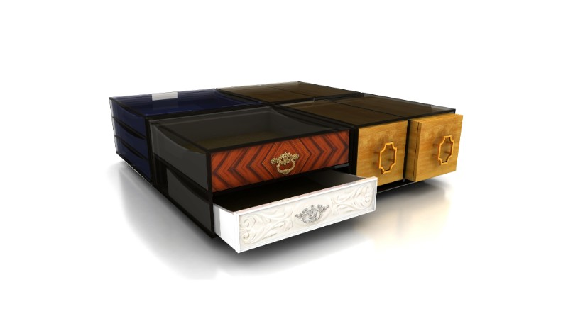 black coffee tables Black Coffee Tables For Your Contemporary Living Room soho coffee table 01