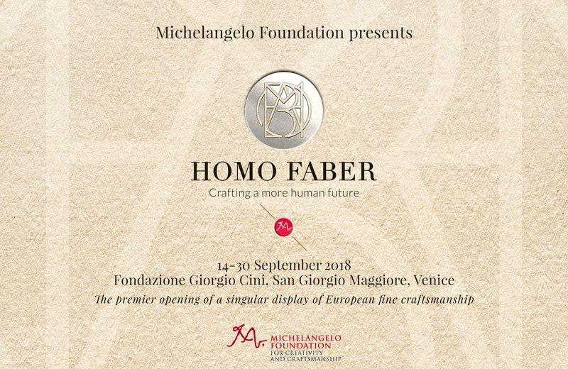 Homo Faber: Boosting European Craftsmanship homo faber Homo Faber: Boosting European Craftsmanship Homo Faber Boosting European Craftsmanship 4