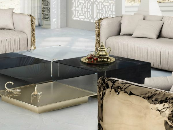 coffee tables Fascinating Living Room Sets With Striking Coffee Tables zfeatured 3 600x451