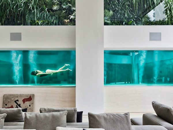 art collector Inside A Brazilian Art Collector House With a Surprising Pool zfeatured 600x450