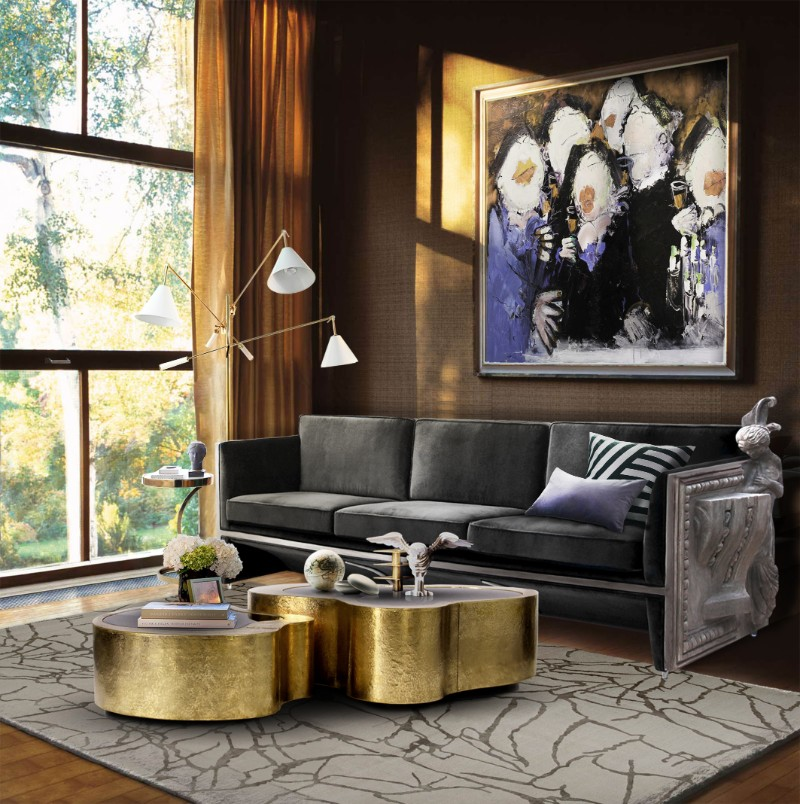 contemporary coffee tables 10 Contemporary Coffee Tables You Will Fall In Love With Wave Center Table by Boca do Lobo