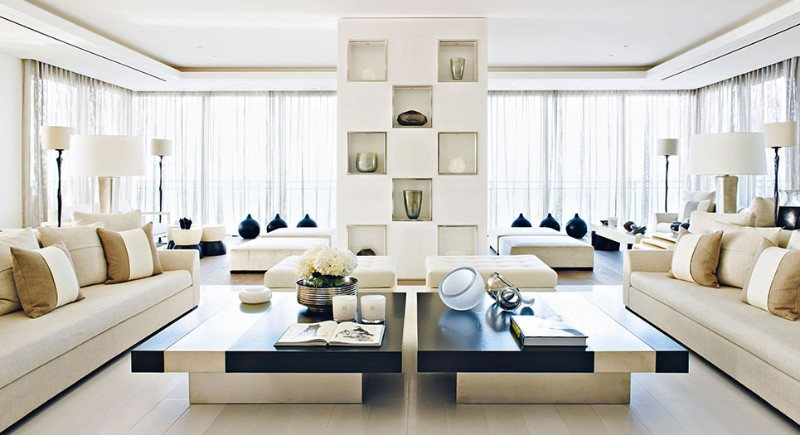 Modern coffee tables for a luxury living room experience