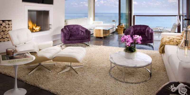 luxury living room experience