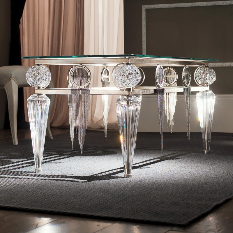 luxury coffee tables Luxury Coffee Tables for Your Opulent Living Room Crystal Table 1 1