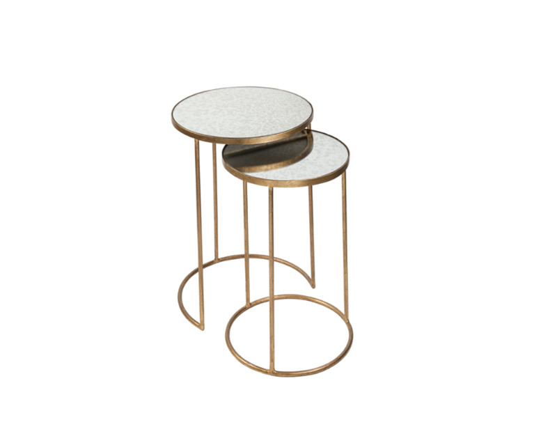 side tables 5 Most Stylish Side Tables by Katharine Pooley Golden Table Set